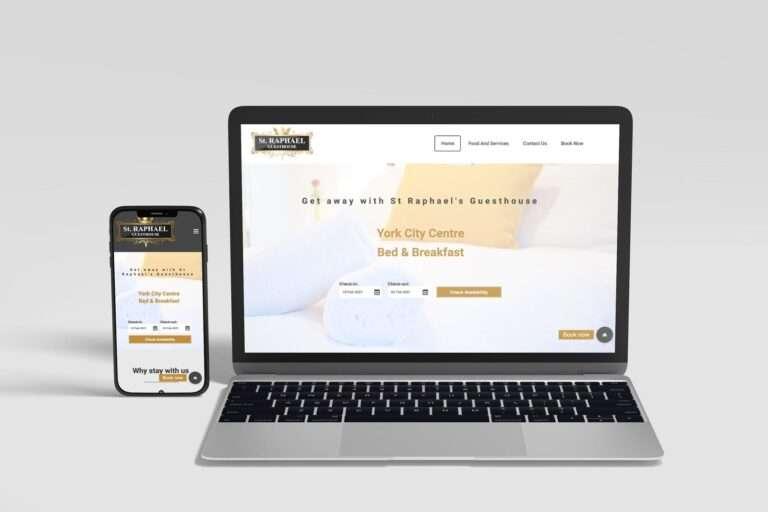 St Raphael's Guest House Website