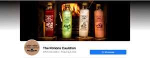 The Potions Cauldron Facebook banner milnerCreative